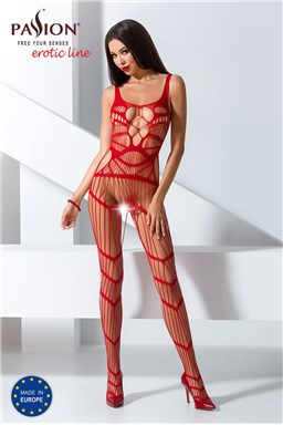 Bodystocking Passion BS058 red