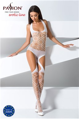 Bodystocking Passion BS060 white