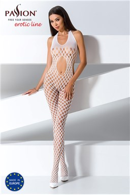 Bodystocking Passion BS065 white