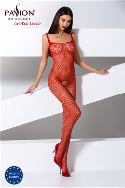Bodystocking Passion BS071 red