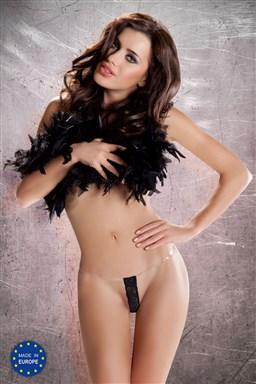 Dámská erotická tanga Passion MT002 černá