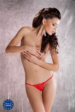 Dámská erotická tanga Passion MT005 červená