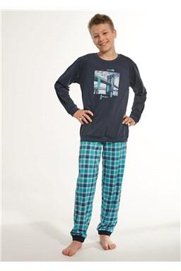 "Chlapecké pyžamo Cornette ""Bridge"" 966/81 young"