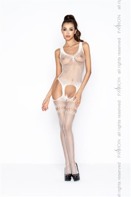 Bodystocking Passion BS038W bílá