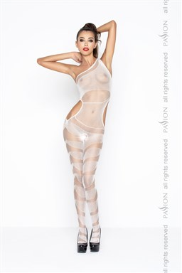 Bodystocking Passion BS041W bílá