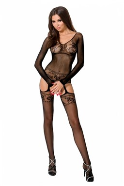 Bodystocking Passion BS055 black