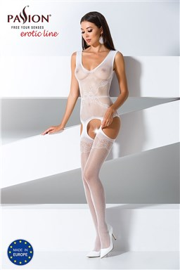Bodystocking Passion BS062 white