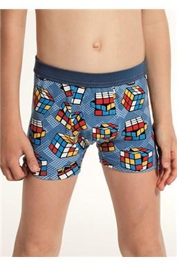 "Chlapecké boxerky Cornette 701/85 ""Cube"", kids"