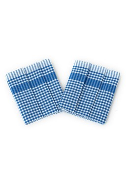 Utierka PAR modrobiela kocka - 3 ks