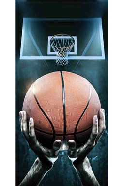 Osuška Basketball 70x140 cm