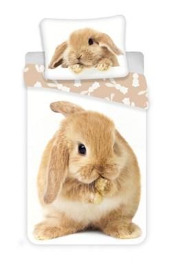 Obliečky fototlač Bunny brown
