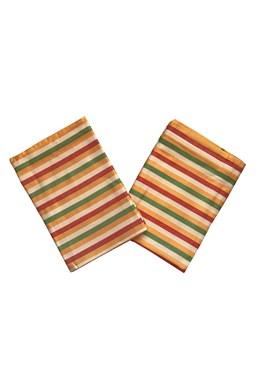 Utierky Bambus Pruh žltý - 3 ks