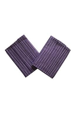 Utierka Extra savá Drobná kocka fialovo / biela - 3 ks