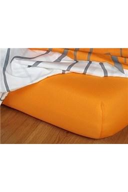 Jersey plachta - pomaranč B