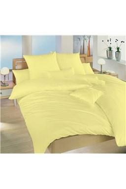 Obliečky krep žltá UNI