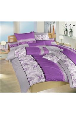 Obliečky krep Medúza fialová