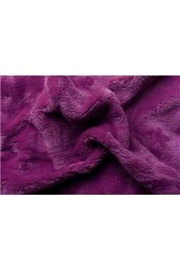Plachta mikroflanel fialová tmavá