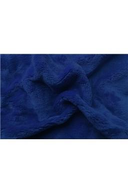 Plachta mikroflanel tmavo modrá