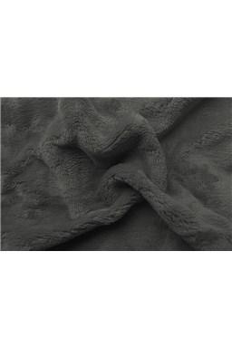 Plachta mikroflanel tmavo šedá