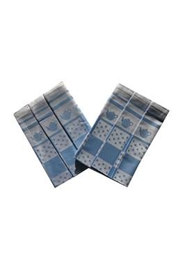 Utierka Extra savá 50x70 Konvička / bodka modrá - 3 ks