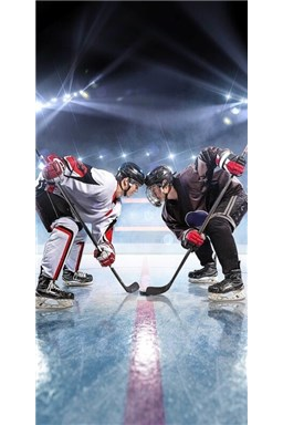 Osuška Lední hokej 70x140 cm