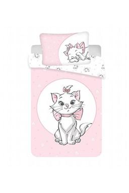 """Disney povlečení do postýlky Marie Cat """"Light pink"""" baby"""