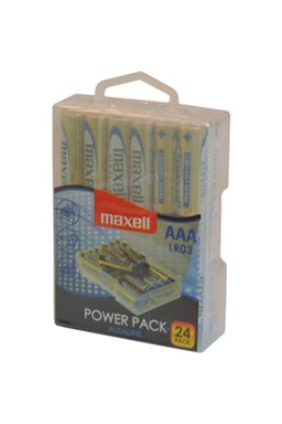 Baterie LR03 24BP AAA Power Alk MAXELL - V