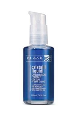 BLACK Professional Cristalli liquid BLU 100ml - Tekuté kryštály pre silne poškodené vlasy