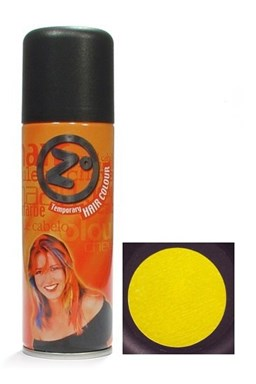 Z GOOD MARK Farba na vlasy v spreji - Farebný lak na vlasy žltý