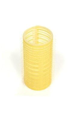 DUKO Natáčky Velcro natáčky na vlasy 28mm žlté 6ks