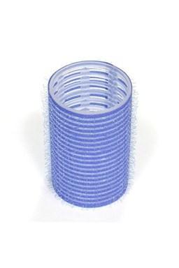 DUKO Natáčky Velcro natáčky na vlasy 38mm tmavo modré 6ks