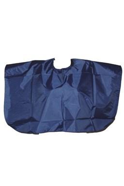 SALON Komplet Kadeřnická střihací pláštěnka krátká - modrá