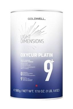 GOLDWELL Oxycur Platin Dust Free 1308 - bezprašný platinový melír na vlasy 500g