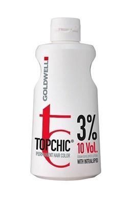 GOLDWELL Topchic Developer Lotion 3% (vol10) - krémový peroxid vodíkov 1000ml