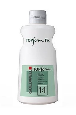 GOLDWELL TopForm Fix - Ustalovač trvalé ondulace 1000ml