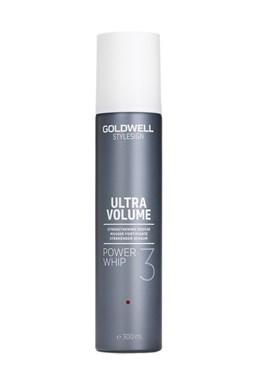 GOLDWELL Volume Power Whip 300ml - silně tužící objemové pěnové tužidlo