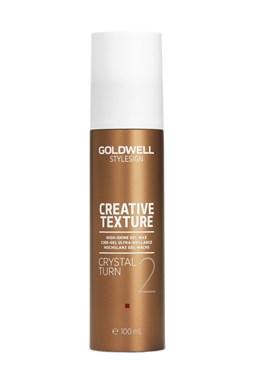 GOLDWELL Texture Crystal Turn 100ml - Pružný gélový vosk pre zvýraznenie a úpravu vlasov