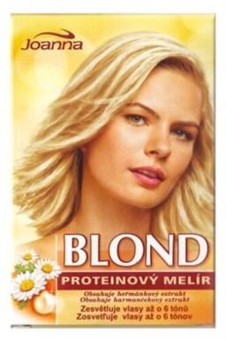 JOANNA Blond Proteínový blond melír na vlasy