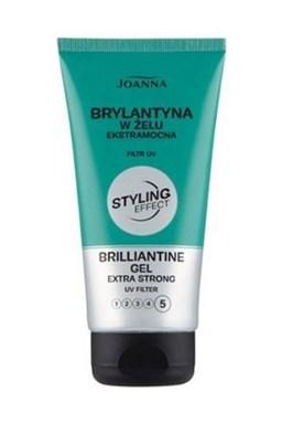 JOANNA Styling Effect Gel Brilliantine 150ml - brilantíny gél pre lesk a silné spevnenie