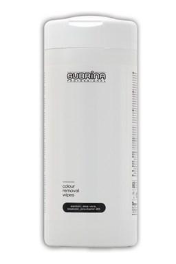 SUBRINA Pomôcky Colour Removal Wipes - čistiace obrúsky na odstraňovanie farby z pokožky 60ks