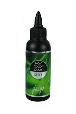 VITALITYS HCP Hair Color Plus gélová farba na vlasy vymývateľná Green 02 - zelená