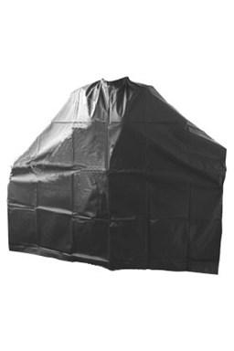 DUKO pláštenky Kadernícka PVC pláštenka na farbenie - dlhá čierna