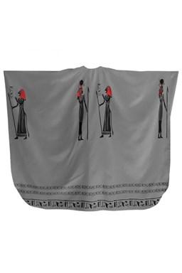 FOX Pláštěnky Kadernícky strihací plášť Egypt - šedá