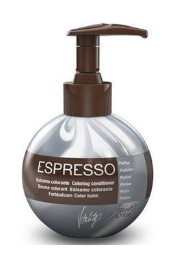 VITALITYS Starostlivosť Espresso Farebný tónovací balzám - Platin - platinový 200ml