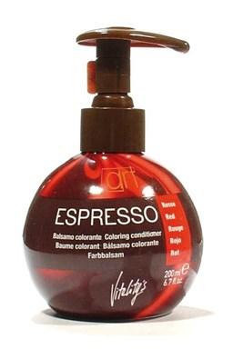 VITALITYS Starostlivosť Espresso Farebný tónovací balzám na vlasy - Red - červený 200ml