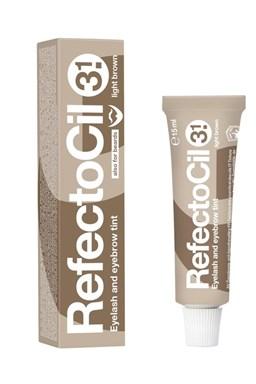 REFECTOCIL Farby Profesionálna farba na mihalnice a obočie - Svetlo hnedá č.3,1