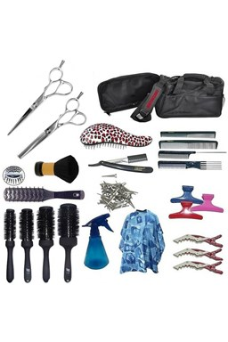 EKONOM Kansai Kadernícky set pre učňov - textilná taška s vybavením pre pravákov