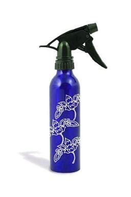 HAIRWAY Pomůcky Rozprašovač na vodu vysoký modrý - květiny 250ml