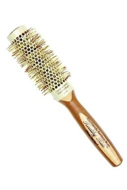 OLIVIA GARDEN Pro Cer Ionic HH-33 Keramický okrúhla kefa na vlasy s bambusovou rúčkou