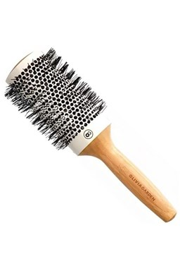 OLIVIA GARDEN Pro Cer Ionic HH-53 Keramický okrúhla kefa na vlasy s bambusovou rúčkou